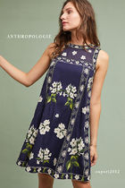 国内発送☆ANTHROPOLOGIE  Rosa Embroidered Swing Dress