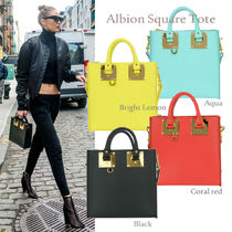 17SS SOPHIE HULME★Albion Square Tote 2Way 4色 関税/送料込