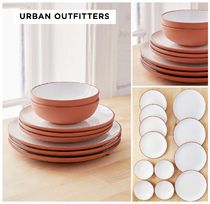 Urban Outfitters☆12ピーステラコッタ食器セット☆