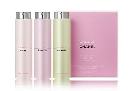 【CHANEL】 CHANCE 3種類 Twist And Spray 3本セット
