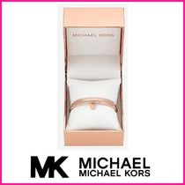 ★MICHAEL KORS Pave Rose Gold-Tone Bangle バングル★送料込