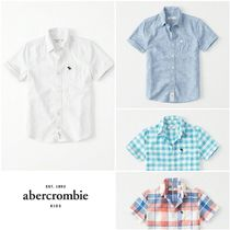 【AbercrombieKids】Linen Cotton Summer Shirts リネンシャツ♪