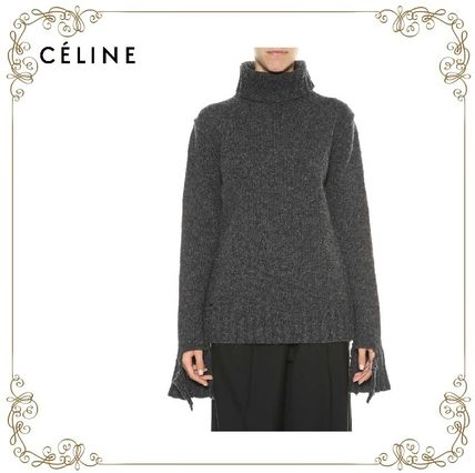 17 AW CELINE Oversized Pull With Cuts
