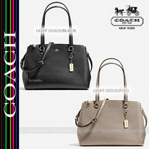COACH★STANTON CARRYALL IN CROSSGRAIN LEATHER 21024