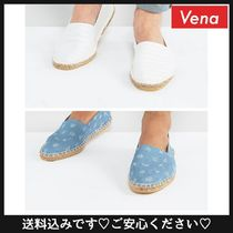 送料込☆ASOS Espadrilles in Chambray Anchor 2 Pack
