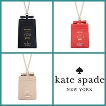 kate spade new york(ケイトスペード) ステーショナリ・文房具その他 ★kate spade Whistle While You Work Leather ID Case★送料込
