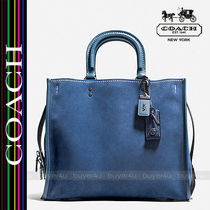 COACH★スエード製ローグサッチェル☆ROGUE 36 IN SUEDE 57179