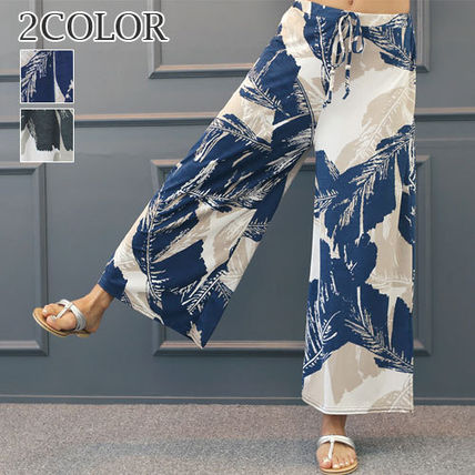 Fair pants wide pants loose fit 93479