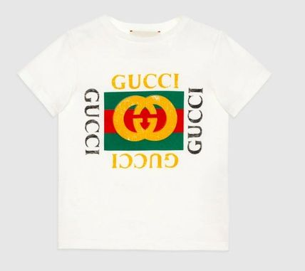 sold out mandatory adult OK GUCCI 2017AW logo with T shirt