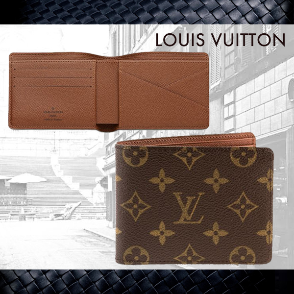 人気【Louis Vuitton】ルイヴィトン★Multiple Wallet★折財布