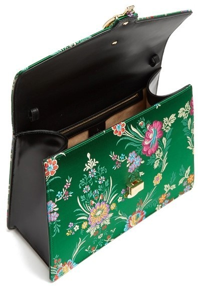 【17AW】★GUCCI★Sylvie floral-jacquard shoulder bag
