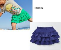 Boden(ボーデン) ボトムス BODEN 3段フリルスカート スコート 90 95 100 110