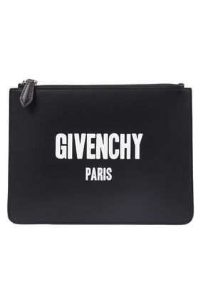 GIVENCHY(ジバンシィ) clutch bag ロゴプリント クラッチバッグ