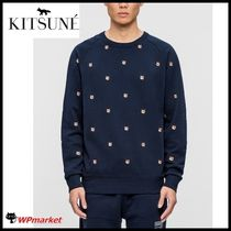 【安心の関税込★】MAISON KITSUNE_All Over Fox Headトレーナー