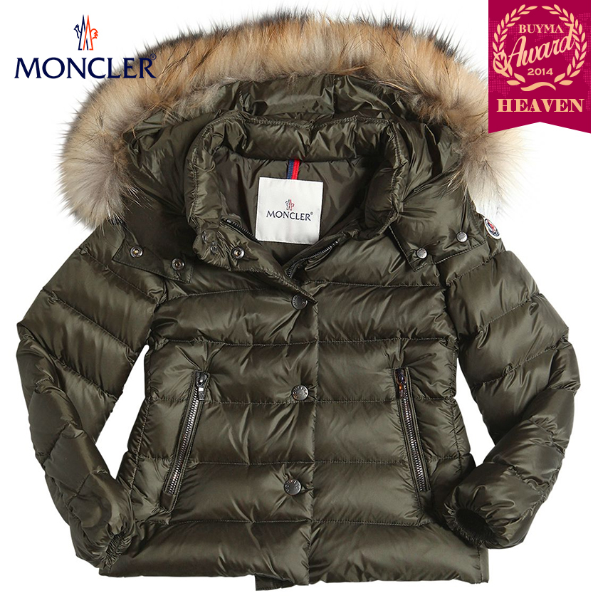 TOPセラー賞受賞!17AW┃MONCLER★4-6歳_ALICE_カーキグリーン