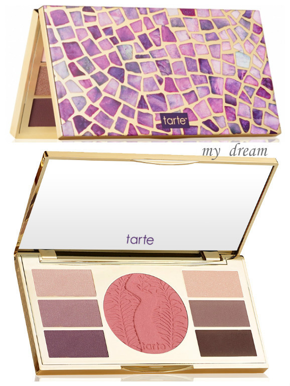 限定☆tarte☆miracles from the Amazon アイシャドー&チーク