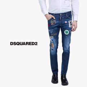 DSQUARED2 COOL GUY ワッペン&ダメージ加工 s71lb0245