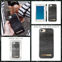 送料込★iDEAL OF SWEDEN★iPhoneケース*BLACK REPTILE
