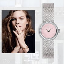 手元から輝く♪ 2017SS  DIOR - La Mini D de Dior Satine watch