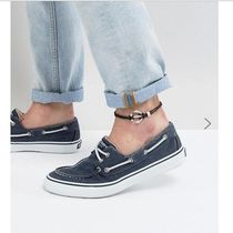 ASOS(エイソス) アンクレット ●関税送料込●ASOS Leather Anklet In Black With Anchor