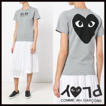 PLAY COMME des GARCONS(プレイコムデギャルソン) Tシャツ・カットソー 国内2~3日COMME des GARCONS*PLAYグレーバッグロゴTシャツ