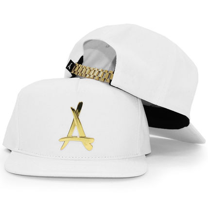 Tha Alumni Clothing☆24K PRESIDENTIAL SNAPBACK (ALL WHITE)