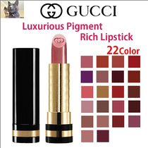 日本未入荷【Gucci】Luxurious Pigment-Rich Lipstick 口紅 22色