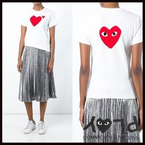 PLAY COMME des GARCONS(プレイコムデギャルソン) トップスその他 国内2~3日COMME des GARCONS*PLAYバッグロゴTシャツ