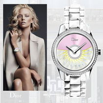 手元から輝く♪   DIOR 〜 Grand Bal Plisse Soleil watch 〜