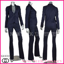 GUCCI(グッチ) スーツ GUCCI★グッチ★JACKET&PANTS ROYAL BLUE PIQUET WOOL SUIT