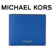 ☆Michael Kors☆ HARRISON  Billfold 折り財布 ELECTRIC BLUE♪