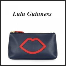☆限定SALE☆【Lulu Guinness】CUT OUT LIP♪ポーチ