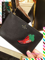 kate spade new york(ケイトスペード) 財布・小物その他 kate spadeリストレット★on purpose small leather wristlet