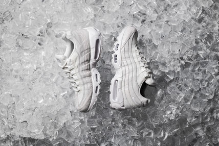 Nike スニーカー 【送料無料】NIKE AIR MAX 95 PREMIUM WHITE PACK  SUMMIT WHITE
