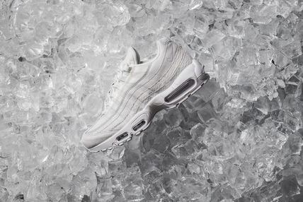 Nike スニーカー 【送料無料】NIKE AIR MAX 95 PREMIUM WHITE PACK  SUMMIT WHITE(2)