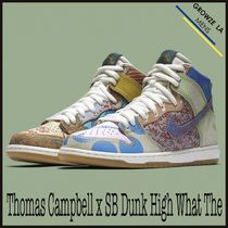 ★【NIKE SB】追跡有 Thomas Campbell x SB Dunk High What The