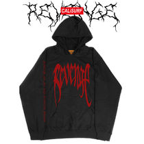 "大人気★XLサイズ REVENGE(リベンジ) ""KILL"" Black/Red Hoodie"