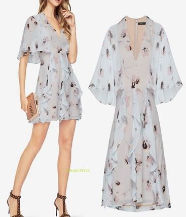 Special price BCBG Mabel floral soft loved Te von dress