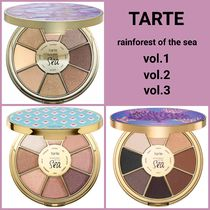 Tarte☆Rainforest Of The Sea アイシャドウパレットVol.1〜3