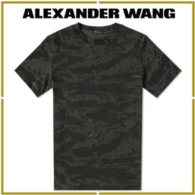 popular T By Alexander Wang TIGER CAMO camouflage short