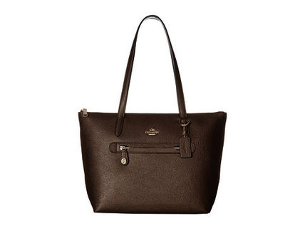 <送料関税込み>Pebbled Taylor Tote Coach ( コーチ ) バッグ