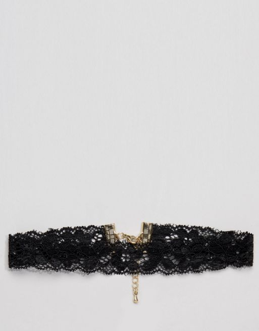 <送料関税込み>Basic Lace Choker Necklace ASOS ネックレス
