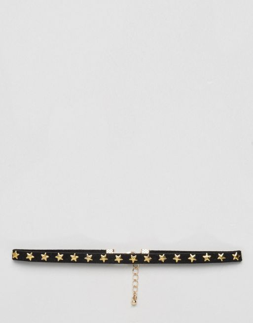 <送料関税込み>Stars Choker Necklace ASOS ネックレス