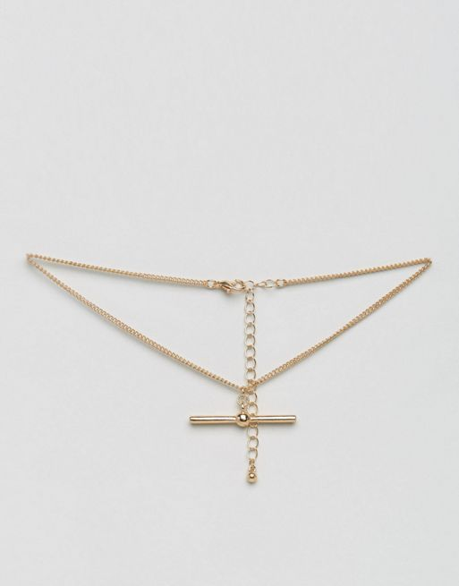 <送料関税込み>Toggle Choker Necklace ASOS ネックレス
