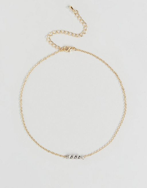 <送料関税込み>Bead Choker Necklace ASOS ネックレス