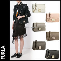 ★3-7日着/追跡&関税込【FURLA】Metropolis Small Shoulder/BHV7