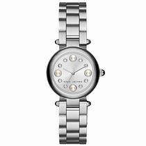 MARC JACOBS(マークジェイコブス) アナログ腕時計 MARC JACOBS Dotty 25 Silver Steel レディース腕時計 MJ3476
