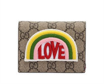 グッチ  LOVE PATCH GG SUPREMEカードホルダー