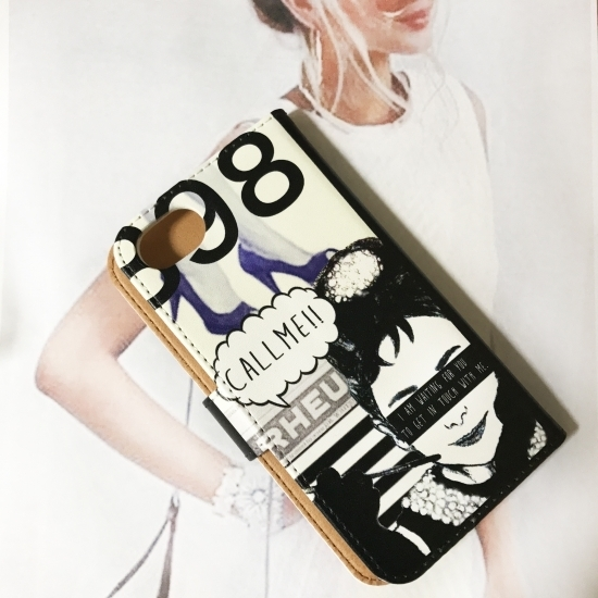 【iPhonePlusシリーズ】CollageDesign iPhonecase[FITTING CASE]