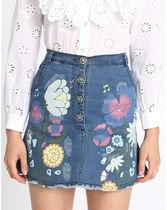 ★Sretsis スレッシス★Posy High Waist Denim Skirt